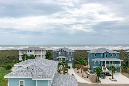 View of the beach from a Starkey rental