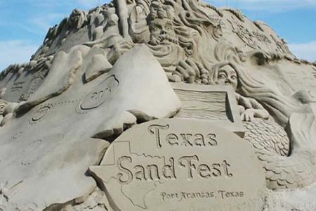 Sandcastle at the Texas Sand Fest
