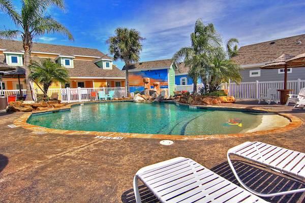 pool at pirates bay port aransas resort community