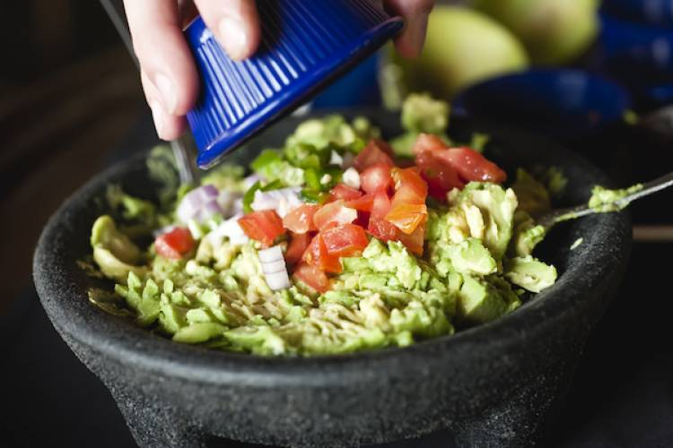 Order guacamole at a Mexican restaurant in Port A